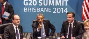 Олланд, Обама, Кэмерон и Меркель
