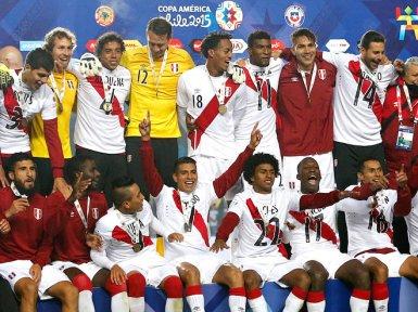 Сборная Перу заняло третье место в этом турнире