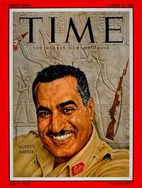 полковник Гамаль Абдель Насер