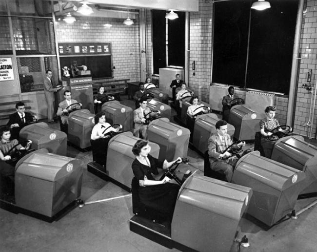 Sürücülük məktəbi, 1953-cü il