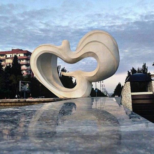 Dove - the symbol of Sumgait