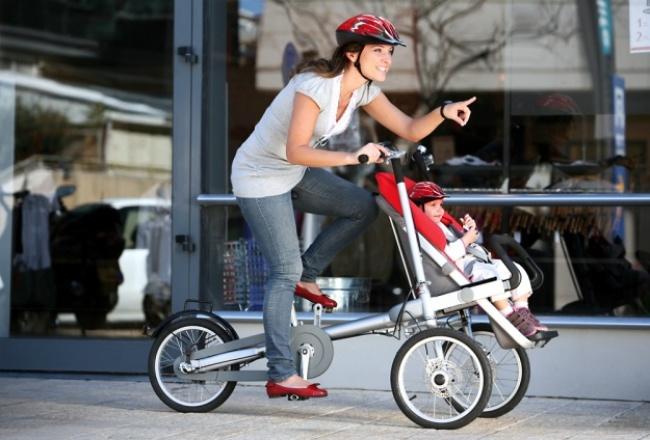 Uşaq arabası-velosiped